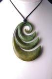 Colgante del jade Imagen de archivo