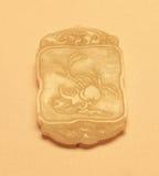 Colgante gris del jade Fotos de archivo libres de regalías