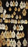 Colgantes de Hamsa Imagen de archivo libre de regalías