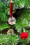 Colgantes de la Navidad Foto de archivo libre de regalías