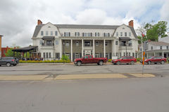 The Colgate Inn in downtown Hamilton, New York Stock Image