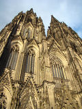 The Colgne cothedral in Germany. Royalty Free Stock Photos