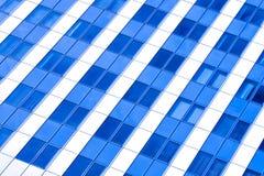 Colheita abstrata diagonal do escritório moderno Imagens de Stock