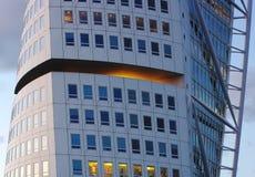 Colheita da torre de Malmo Foto de Stock Royalty Free