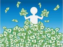 Colheita do dinheiro Fotos de Stock Royalty Free