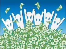Colheita do dinheiro Fotos de Stock