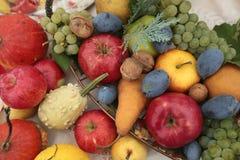Colheita do outono das frutas e verdura Fotografia de Stock Royalty Free