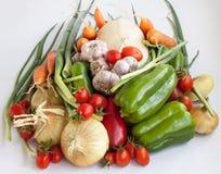 Colheita grande dos vegetais 3 Foto de Stock Royalty Free