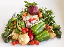 Colheita grande dos vegetais 3 Imagem de Stock Royalty Free