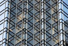 Colheita incomun do edifício do negócio Fotografia de Stock Royalty Free