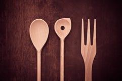 Colher da cozinha Imagens de Stock
