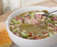 Colher de sopa Foto de Stock