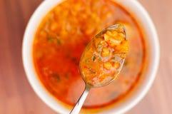 Colher de sopa Fotos de Stock Royalty Free