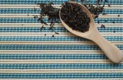 Colher do chá Foto de Stock Royalty Free