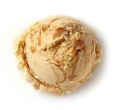 Colher do gelado Imagem de Stock
