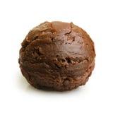 Colher do gelado de chocolate Foto de Stock Royalty Free