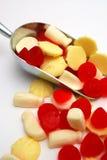 Colher dos doces Foto de Stock