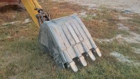 Colher grande do backhoe Foto de Stock Royalty Free
