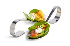 Colheres do aperitivo Imagem de Stock