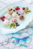 Colheres do gelado Imagem de Stock