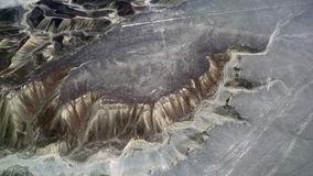 Colibrì nelle linee di Nazca Fotografie Stock