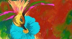 Colibri διανυσματική απεικόνιση