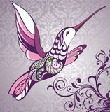 Colibri background Royalty Free Stock Photos