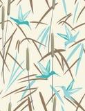 Colibri e lingüeta Imagem de Stock