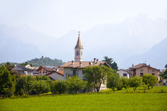 Colico on lake Como Royalty Free Stock Photo