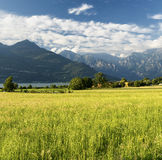 Colico Lecco and the lake of Como Stock Images