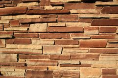 Colida o tijolo Fotografia de Stock