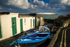Free Coliemore Harbour And Dalkey Island. Dublin. Ireland Stock Images - 112816634