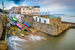 Coliemore Harbour, Dublin Royalty Free Stock Photos