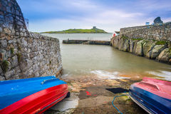 Coliemore Harbour, Dublin Stock Images