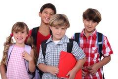 Écoliers Photo libre de droits