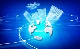 Coligação global ilustração stock