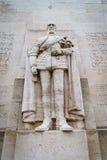Coligny, mur de réforme, Genève, Suisse Images libres de droits