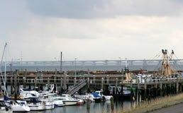 Colijnsplaatjachthaven stock afbeelding