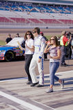 Colin Braun met het Lid van het Meisje en van het Team Royalty-vrije Stock Afbeeldingen