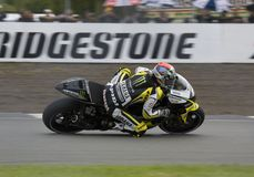 Colin Edwards Donington MotoGP 2009 Lizenzfreies Stockbild