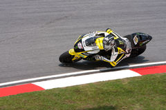 Colin Edwards no Malaysian Motogp do escudo Fotos de Stock Royalty Free