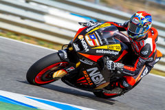 Colin Edwards Pilot von MotoGP Stockbilder