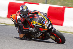 Colin Edwards racing Royalty Free Stock Photos