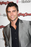 Colin Egglesfield,The Rolling Stones,Rolling Stones. LOS ANGELES - FEB 26: Colin Egglesfield arrives at the Rolling Stone Pre-Oscar Bash 2011 at W Hotel on stock photos
