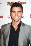 Colin Egglesfield,Rolling Stones,The Rolling Stones. LOS ANGELES - FEB 26: Colin Egglesfield arrives at the Rolling Stone Pre-Oscar Bash 2011 at W Hotel on royalty free stock photo