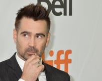 Colin Farrell bij de première van Weduwen bij de internationale Film Festiva l2018 van Toronto stock fotografie