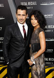 Colin Farrell and Claudine Farrell Stock Images