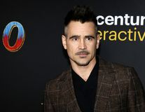Colin Farrell royalty free stock image