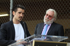 Colin Farrell,Donald Sutherland Stock Images