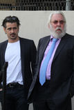 Colin Farrell,Donald Sutherland Stock Photography